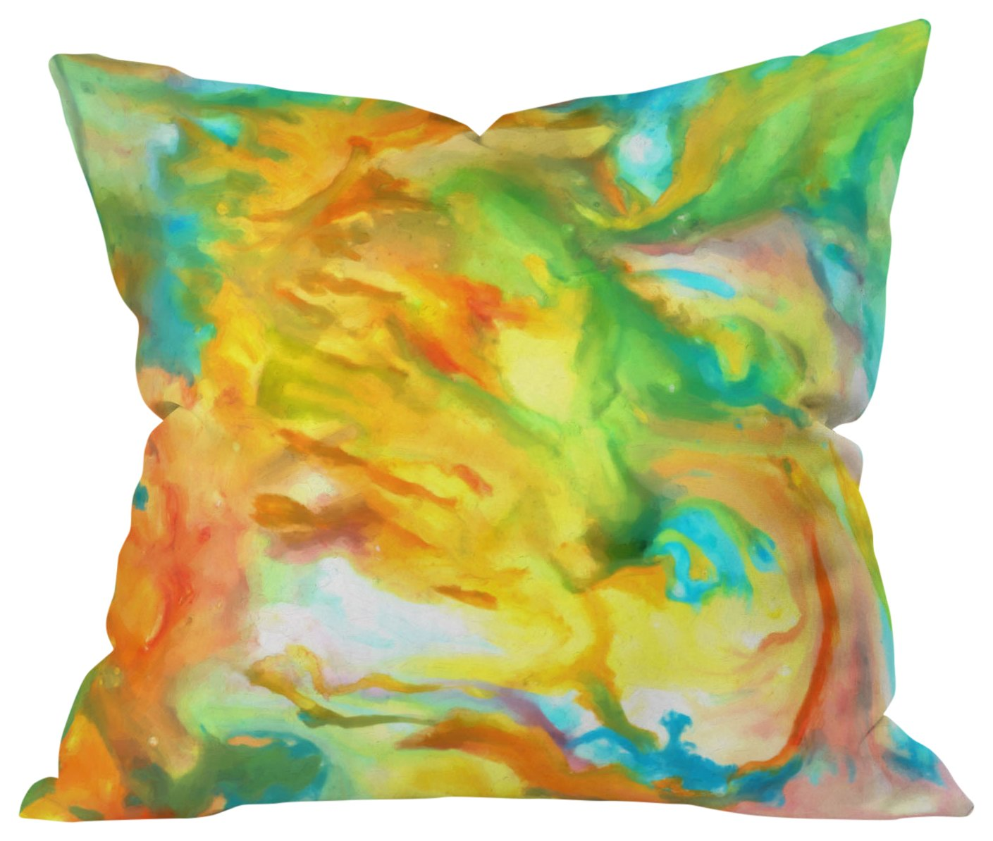 20 x 20 Deny Designs Rosie Brown Sea Fantasy Outdoor Throw Pillow