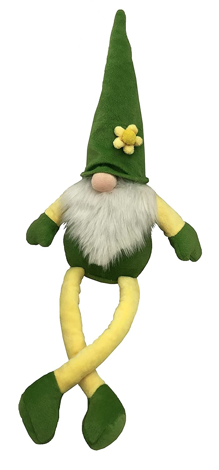 30 Inch Petlou Durable Plush GNOME Dogs and Cats Toys with Multi-Squeak and Crinkle in Different Size (30 Inch)