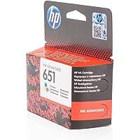 HP C2P11AE (651) Mürekkep Kartuş 300 Sayfa, Üç Renkli