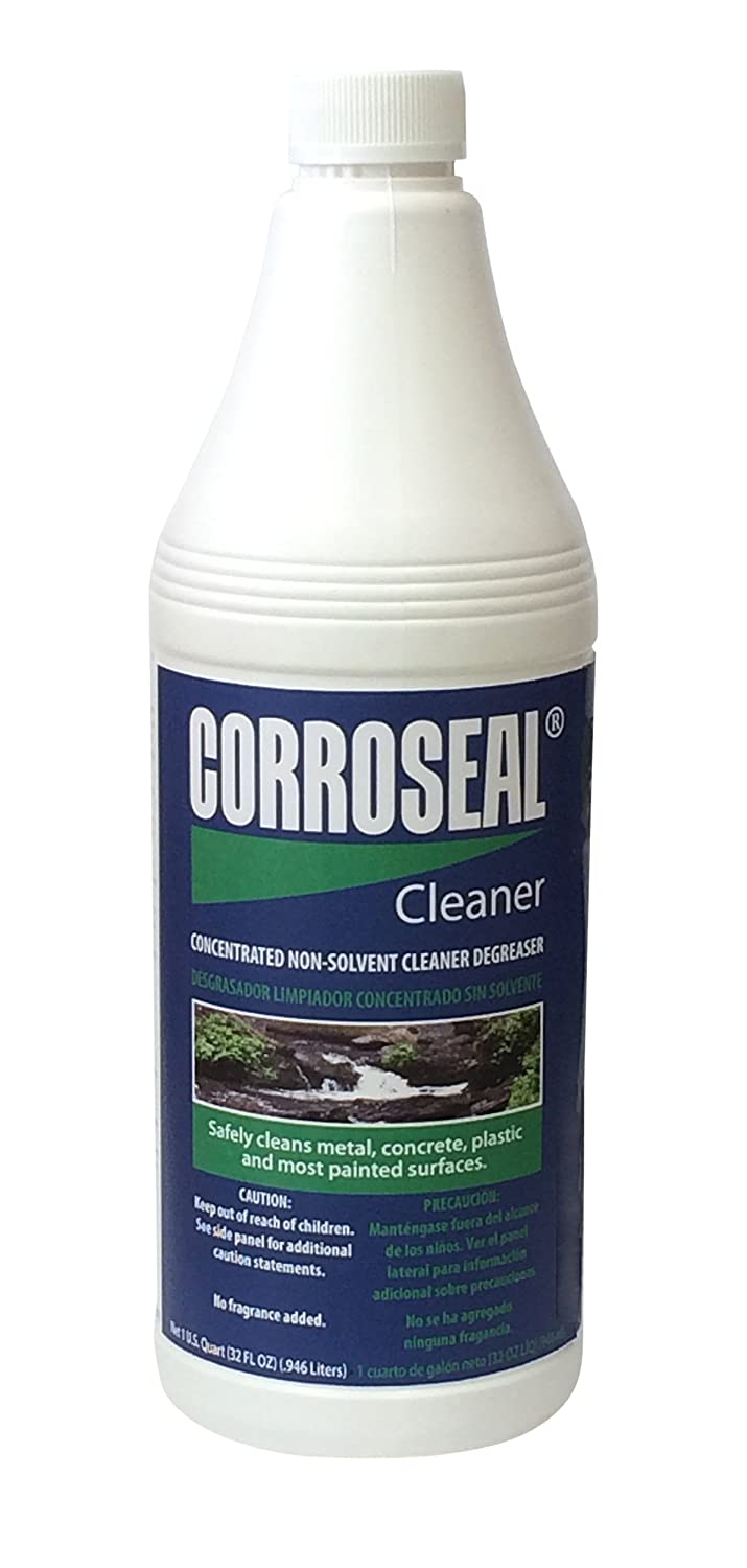 Corroseal Green Rust Converter Application Cleaner, 32 oz  Quart Bottle,  800332