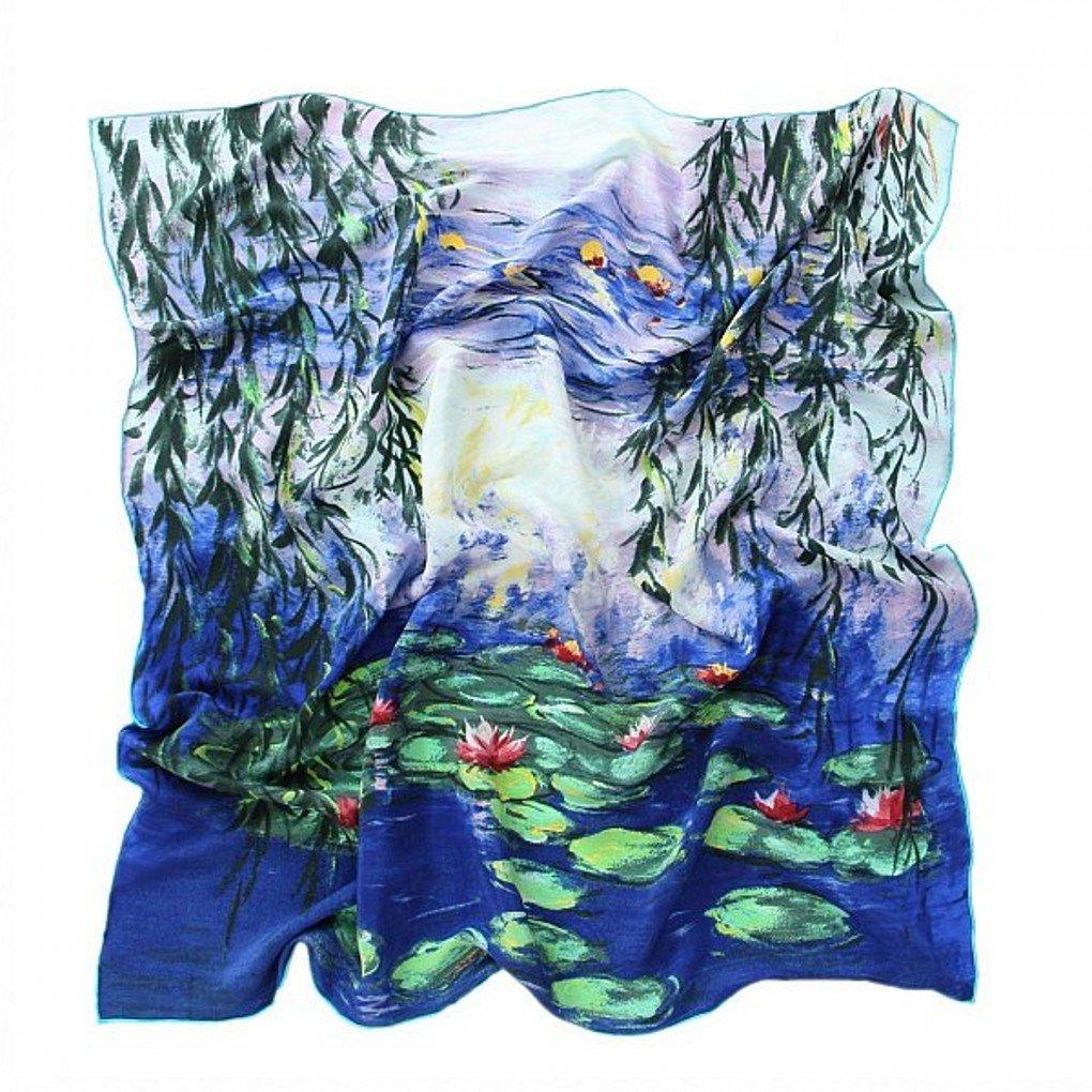 prettystern Seide Umschlag-Tuch Impressionismus Malerei Claude Monet