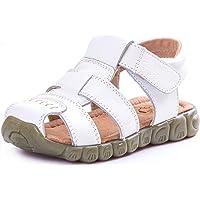 Saldgoiz Niña Niño Zapatos Sandalias Deportivas con Punta Cerrada de Senderismo Trail Zapatillas de Playa de Verano para…