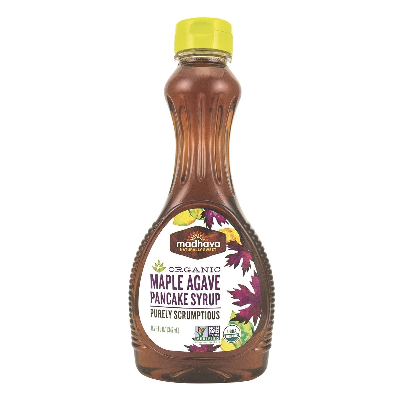 Amazon.com : Madhava Naturally Sweet Organic Agave Pancake Syrup ...