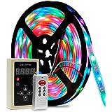 Fita De Led 6803 Iluminação Rgb Colorida com 5 Metros Prova D'água com Controle Digital 133 Efeitos Chroma
