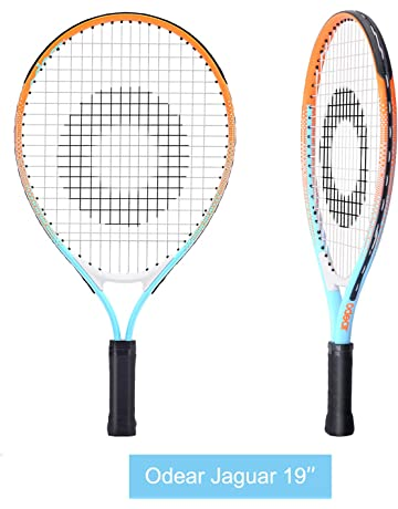 c94ef2041d9 Odear Kids Junior Tennis Racket Strung with Cover