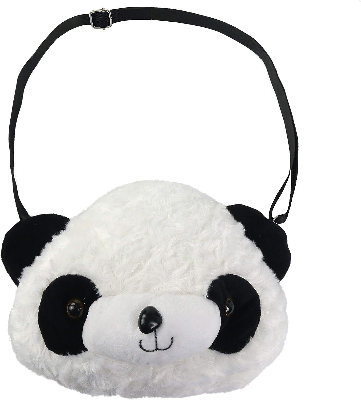 Panda Backpacks Stuffed Animal Bag Girls Boys Plush Adjustable Schoolbags Kinder