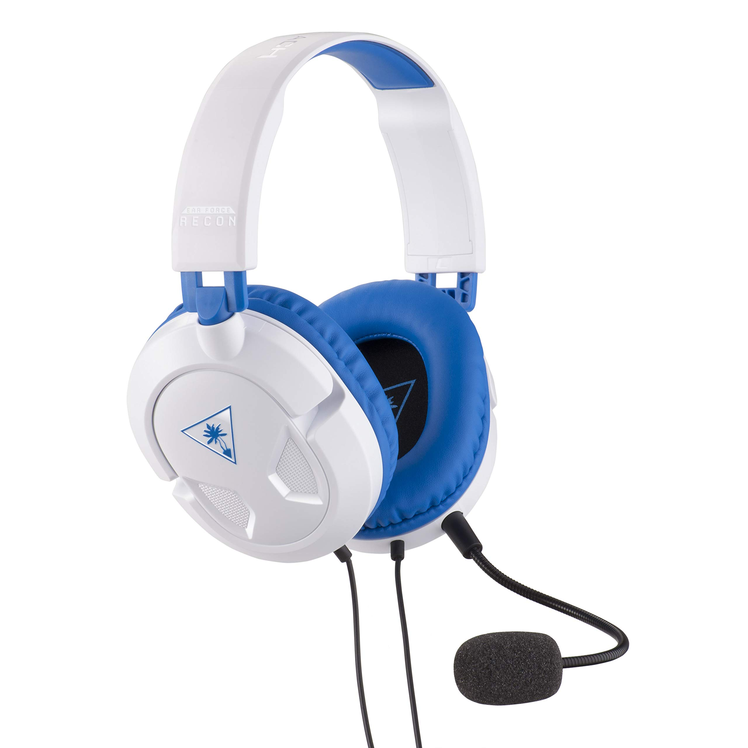 Turtle Beach Recon 60P White Amplified Stereo Gaming Headset for PS4 Pro & PS4 - PlayStation 4