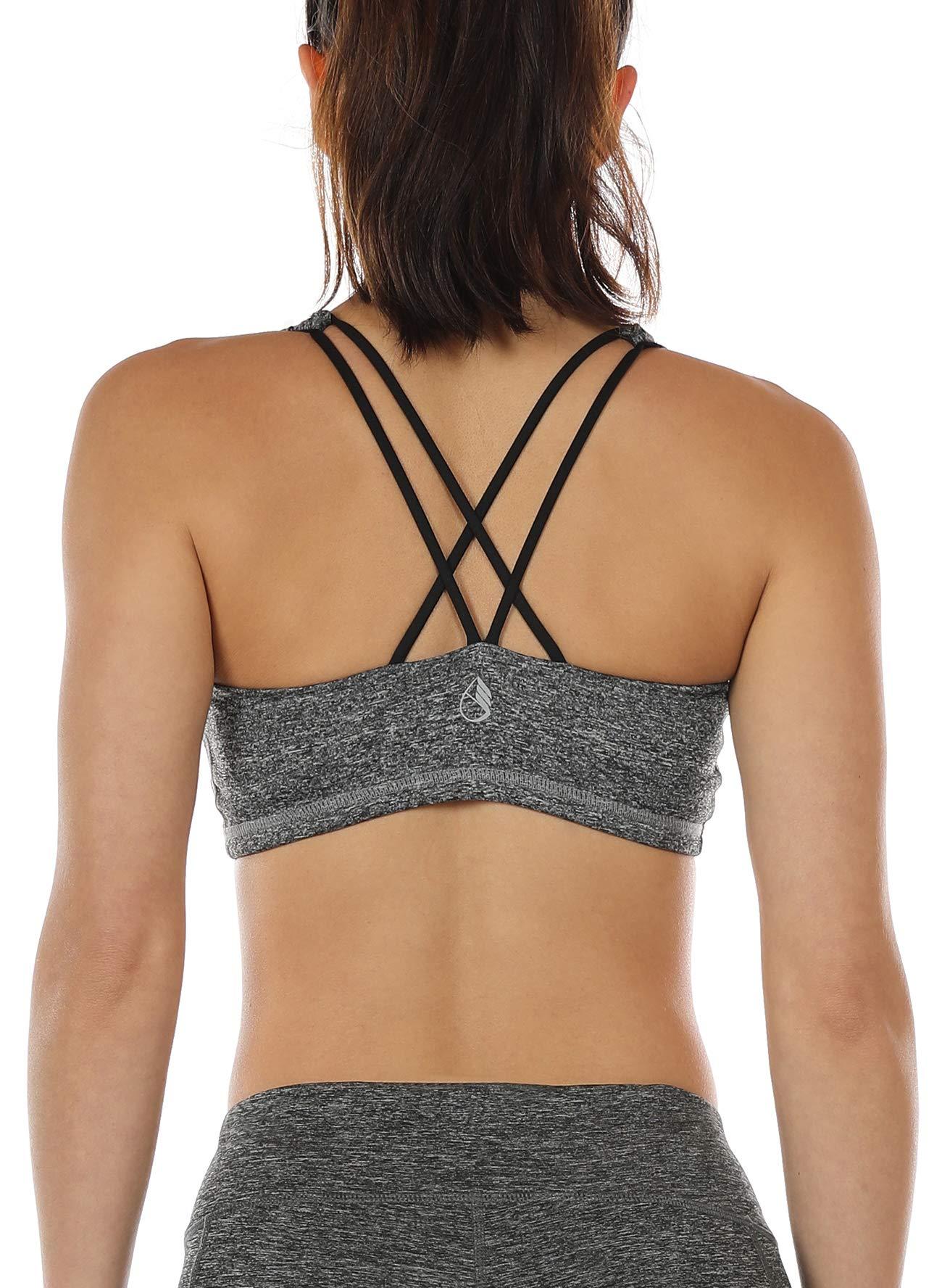 icyzone Sports Bra for Women - Women's Workout