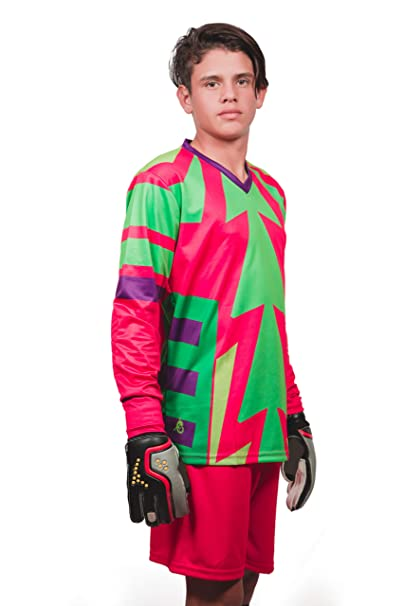 Amazon.com : Brody Jorge Campos Goalkeeper Set Jersey and Shorts : Sports & Outdoors