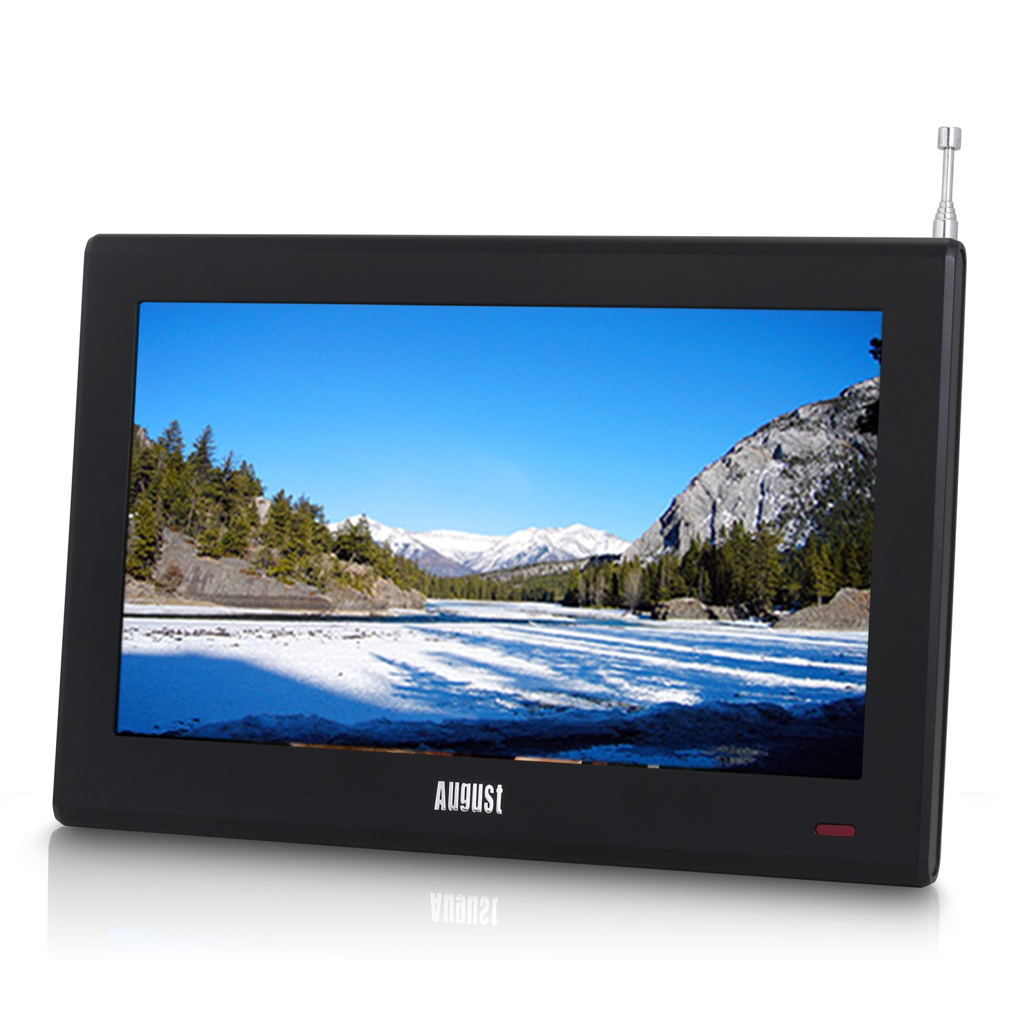 Small Tv For Bedroom August Dtv905 9 Portable Freeview Tv Small Screen Lcd