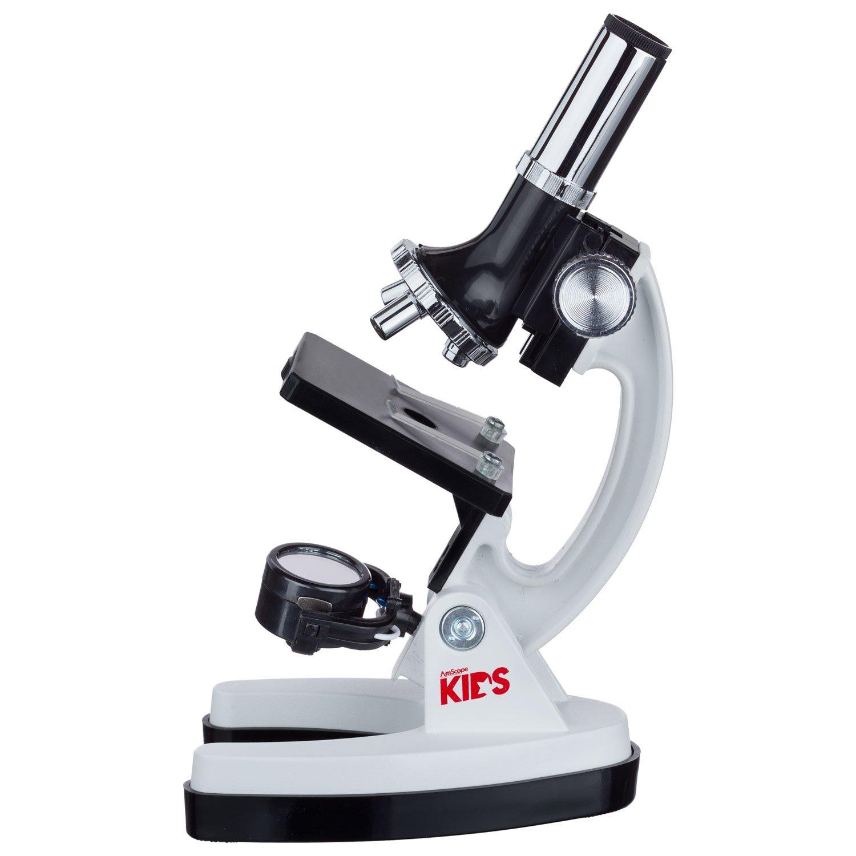 amazon com amscope kids m30 abs kt2 w microscope kit with metal
