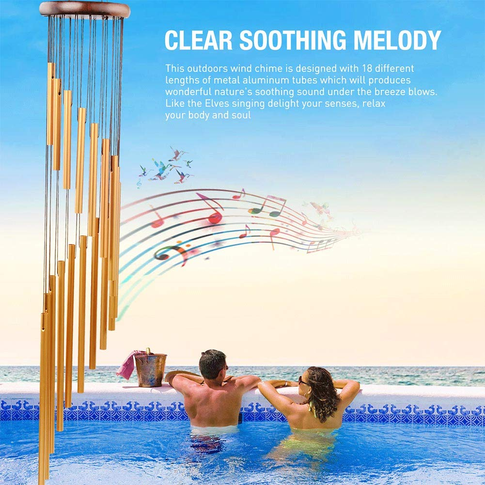 Acell Wind Chimes Outdoor Chime - 35