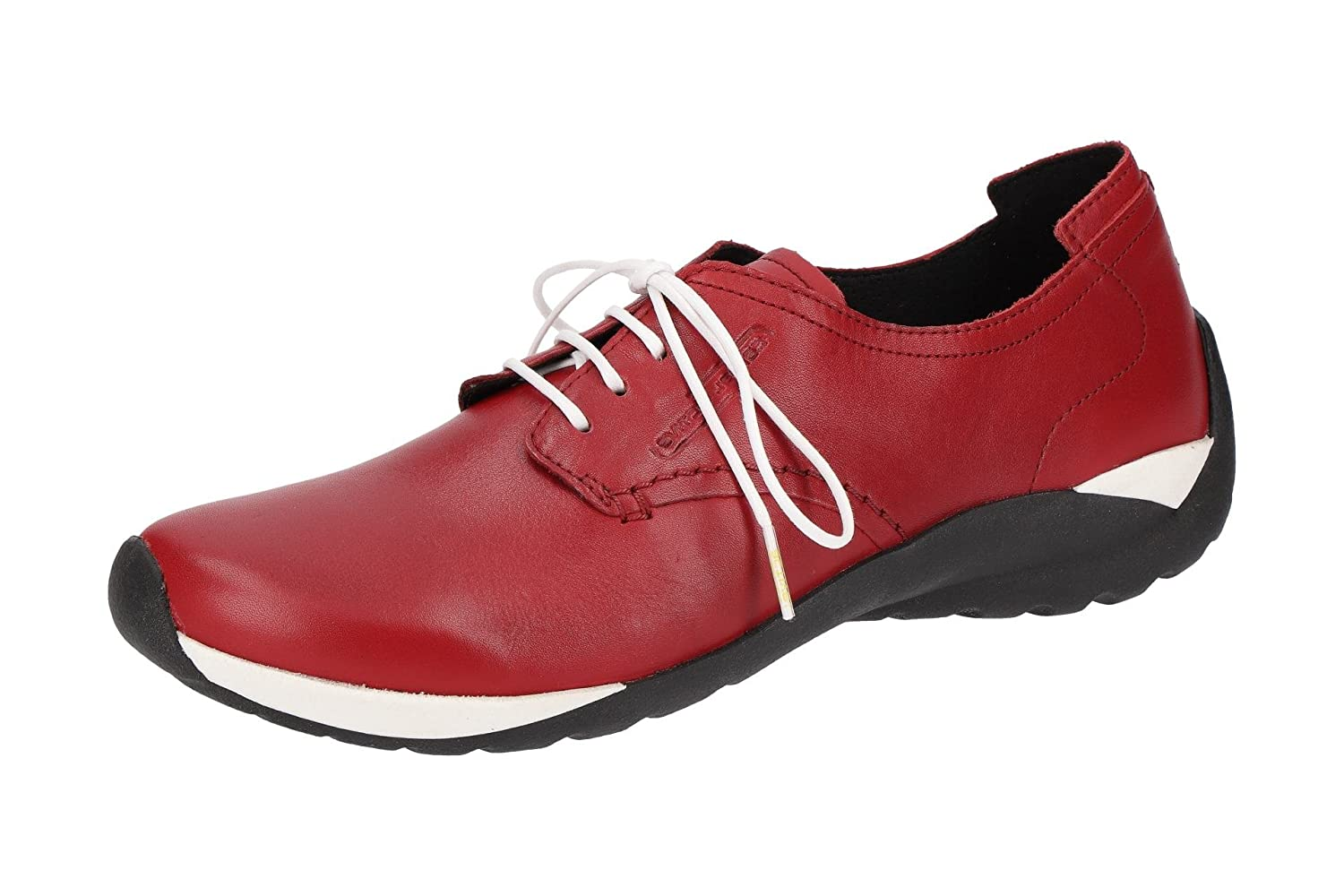camel active Mujeres Zapatos Planos Red Rojo, (Red) 844.72.07 38 EU|Red