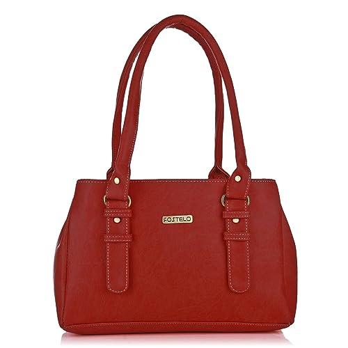 54631e3fce7 Fostelo Westside Women s Handbag (Red)  Amazon.in  Shoes   Handbags