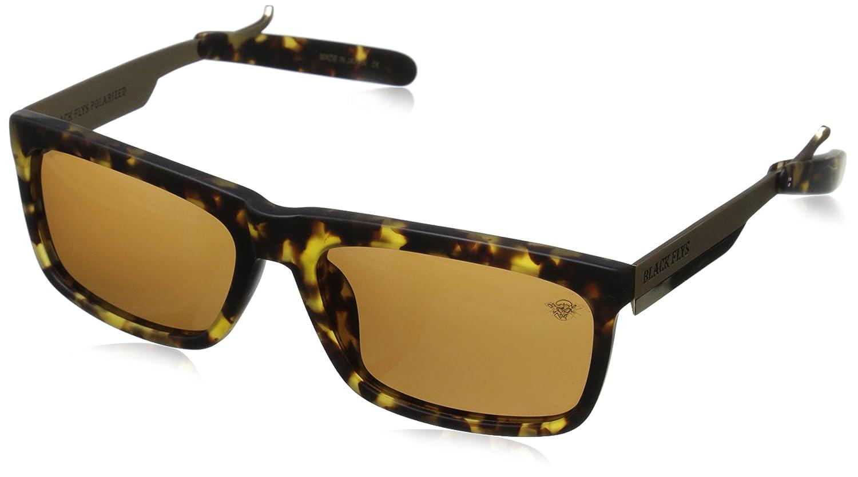 Black Flys Fly Razor 2 with Amber Lens Polarized Wrap Sunglasses