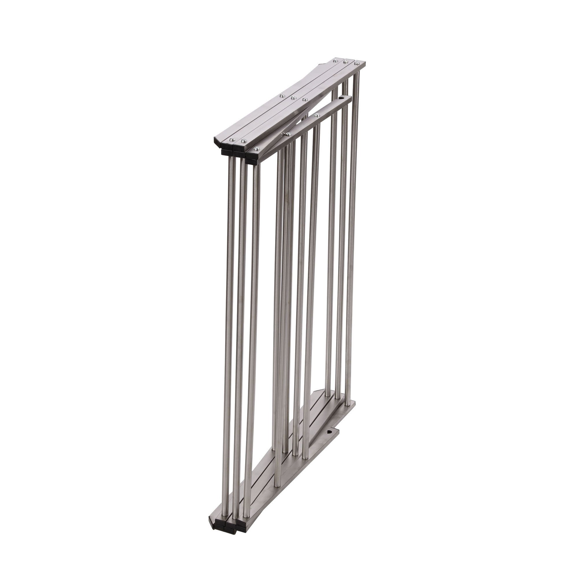 Household Essentials Folding X-Frame Clothes Dryer, Stainless Steel by Household Essentials (Image #4)
