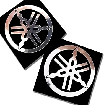Die Cut Stickers Kit for Yamaha R6 Vinyl 5-7 Years silver