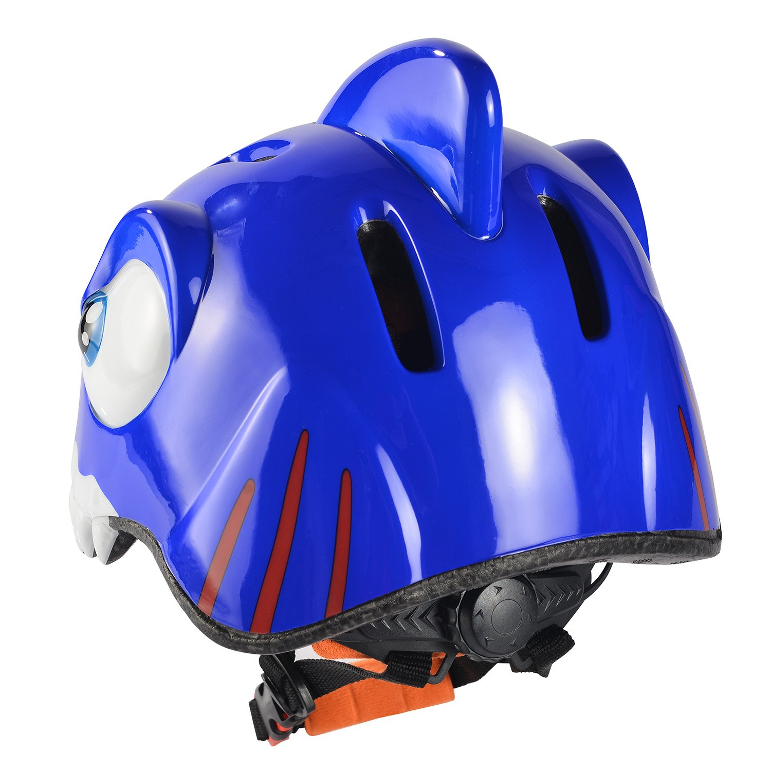 Amazon.com : Chaokele kids helmets Childrens cute shark shape design safe bike helmet blue : Toys & Games