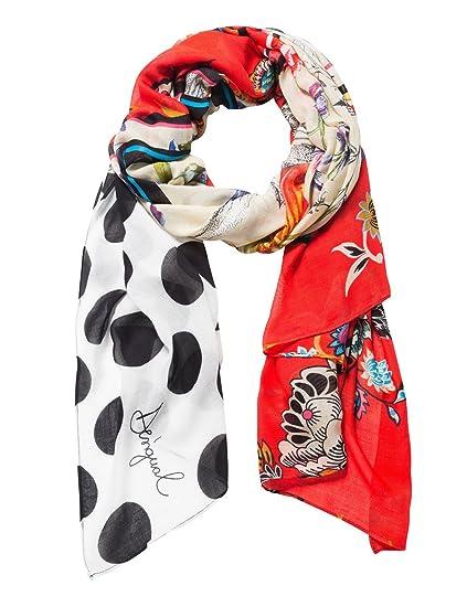 garantie de haute qualité design de qualité bonne vente de chaussures Desigual foulards 18waww28 manuela patch rouge