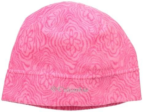 Amazon.com: Columbia Big Girls Youth Glacial Fleece Hat, Punch ...