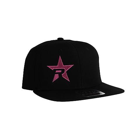 Amazon.com: RBP negro Trucker sombrero, rosa, estrella ...