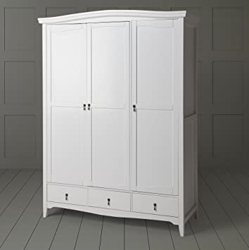 New Louis Classic French Style 3 Door 3 Drawer Solid Pine Triple
