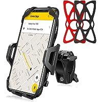 Fintie Bike Phone Mount, 360° Rotation Universal Bicycle Motorcycle Handlebar Holder Anti-Shake Silicone Bands Cycling…