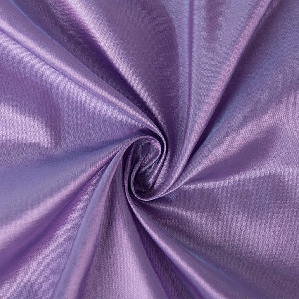 Purple Window Curtain,Fheaven 1 Panel Fabric Leaves Room Darkening Curtain Tulle Window Treatment Voile Drape Valance for Bedroom