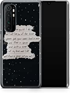 Covery Cases Silicon Back Cover For Xiaomi Mi Note 10 Lite - Multi Color , 2725609616756