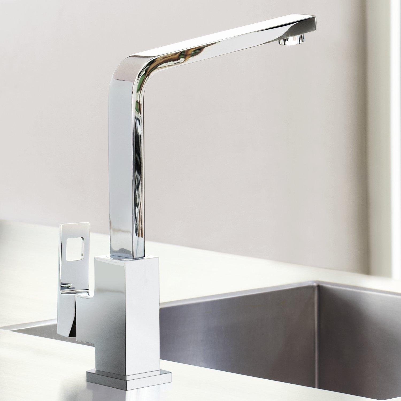 GROHE single-lever basin mixer Eurocube 31255 temperature limiter ...