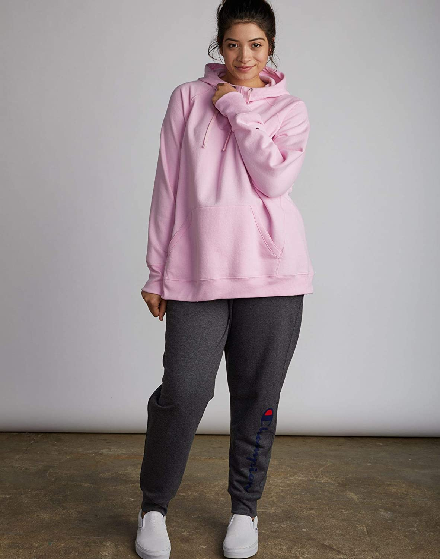Champion Womens Fleece Pullover Hoodie Hoody