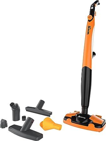 Euroclean Eureka Forbes Plastic Steem Vacuum Cleaner (Orange & Black)
