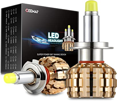 120W 12000LM 9004//9007 LED Conversion Kit 6000k 6k Xenon HID Pure White  4 Sided