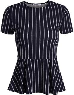 0d138044cb4583 Leadmall Women Zipper Chiffon Blouse| Plus Size Short Sleeve Tops ...
