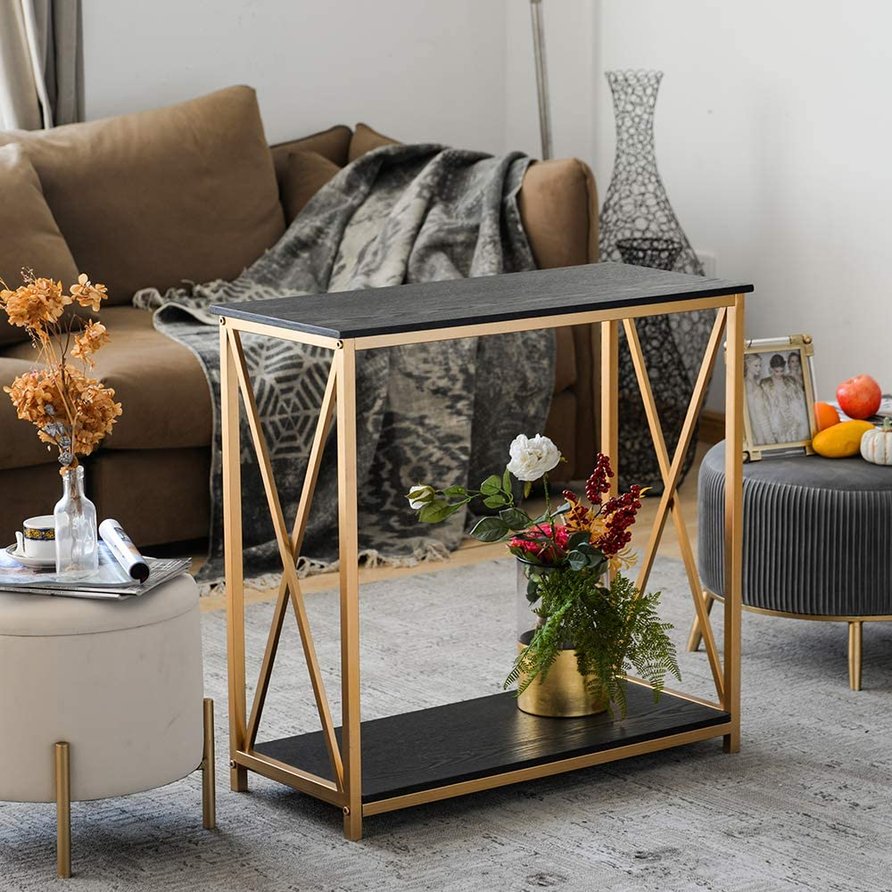 GHQME Industrial Console Table