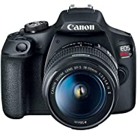 Deals on Canon Eos Rebel T7 DSlR Camera W/18-55mm Lens