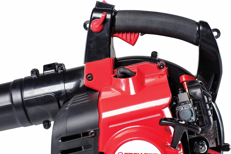 Amazon.com: Troy-Bilt 41 as27va766 Gas soplador, rojo ...
