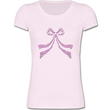 01a3c8da7bb6 Shirtracer Bunt gemischt Kinder - Schleife Punkte Herzchen - Mädchen T-Shirt  T-Shirts  Amazon.de  Bekleidung