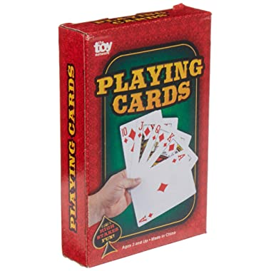 """Rhode Island Novelty 2.25"""" x 3.5"""" Economy Playing Cards 