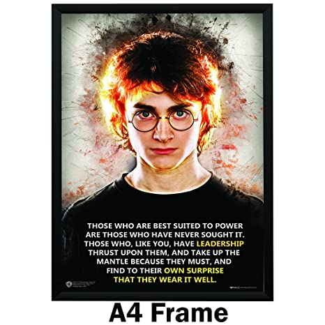 happy giftmart harry potter quotes leadership poster wb
