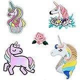 20 parches termoadhesivos unicornios guays cazadoras ...