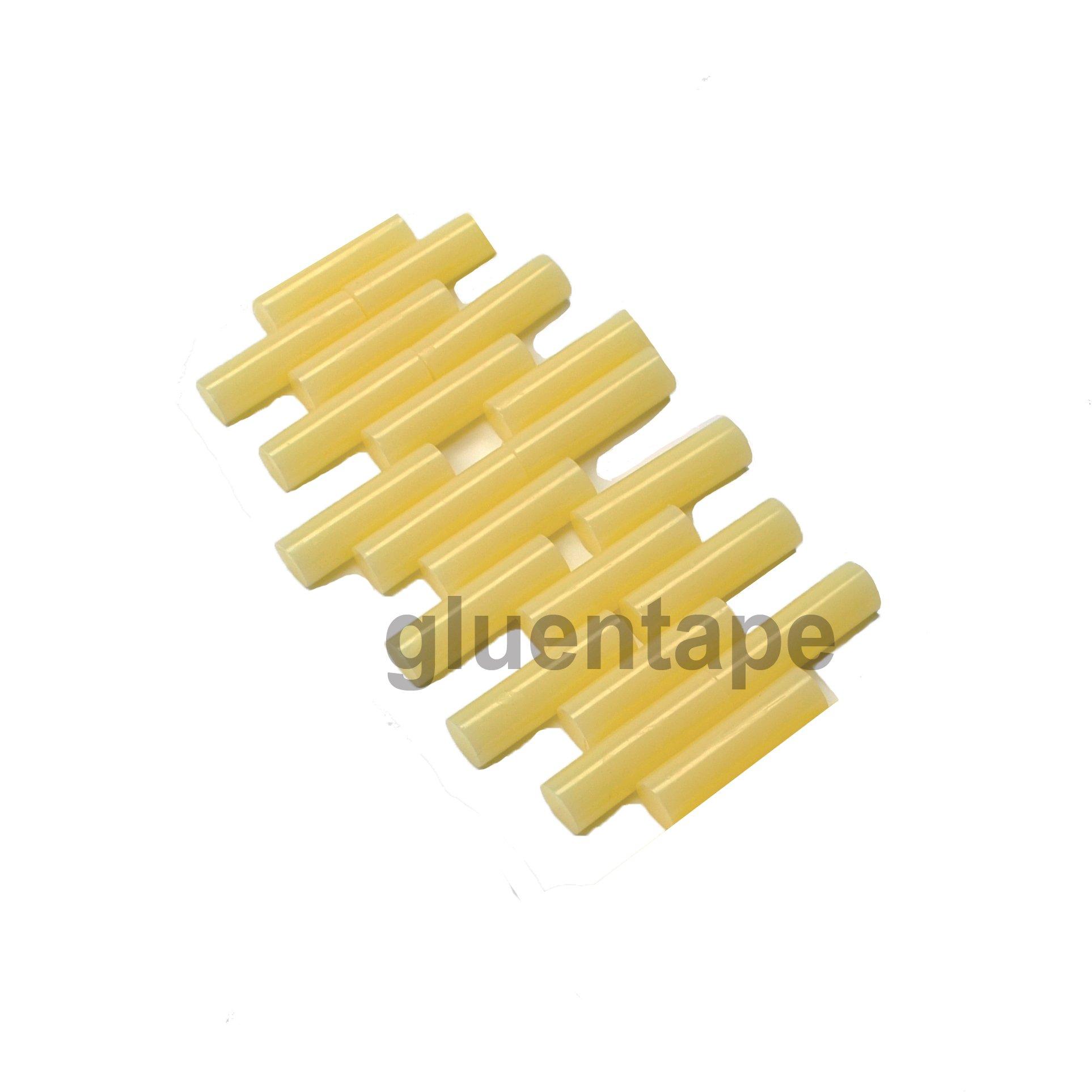 General Packaging Hot Melt Glue Stick 5/8 inch x 2 inch (25lbs) by GlueNTape