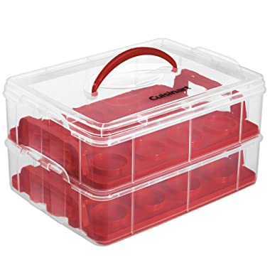 Cuisinart CTG-00-CCCR Cupcake Carrier, Red