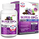 LABO Nutrition Super OPCS – Premium French Maritime Pine Bark Extract, 150mg per Serving – for Healthy Circulation…