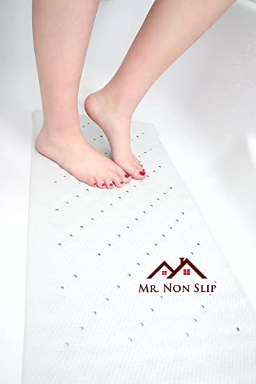 Amazon.com: Natural Rubber Non Slip Bath Mat For Tub Or Shower 16 x ...