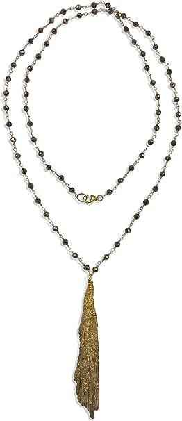 Fools Gold Tear Pendant\u2022 Iron Pyrite Necklace\u2022 Fools Gold Jewelry\u2022 Iron Pyrite Jewelry\u2022 Fake Gold Nugget Pendant
