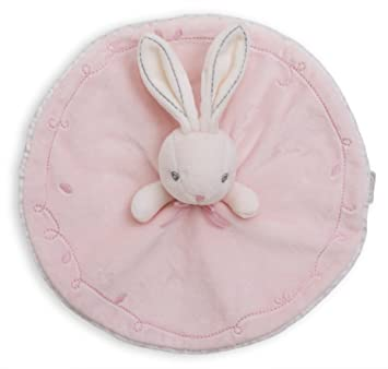 Kaloo - Colección Perle, Doudou con nudos conejo redondo, color rosa (K962163)