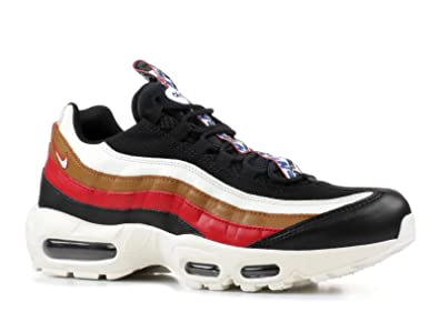new style 2f5c3 9c06e Nike Men's Air Max 95 Shoes In Multicolor Leather AJ4077-002: Amazon ...