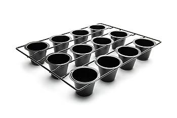 Fox Run Durable Carbon Steel Popover Pan