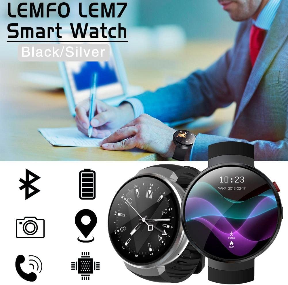 feiledi Trade LEMFO LEM7 - Reloj Inteligente Android 7.0 ...